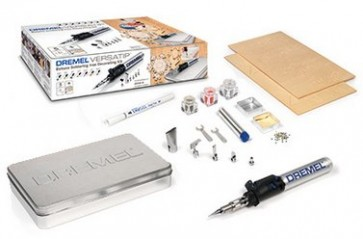 Kit di decorazione con saldatore a butano DREMEL® VersaTip (2000-6 Decorating Kit)