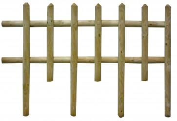 Steccato Recinto Legno Pino RANCH cm 120x83 h