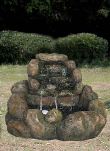 Fontana da Giardino ROCCIA MZ 11749 A 85x77x58 in poliresina