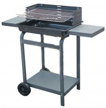 Barbecue con griglia 5842T e due piani lavoro
