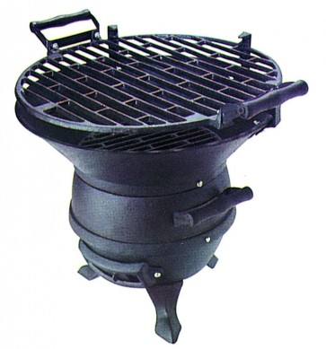 Barbecue lampo ghisa carbone 36cm