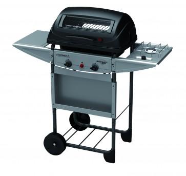 Barbecue pietra lavica EXPERT 2 DELUXE due bruciatori + fornello