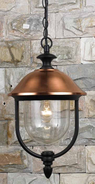 Lanterna da giardino COPPER in alluminio globo + catena