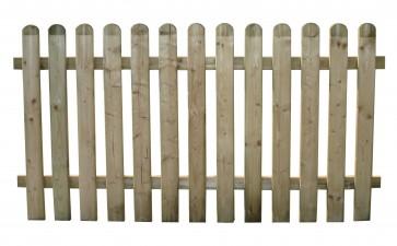 Steccato Recinto Legno Pino ELA ALTO cm 180x100 h