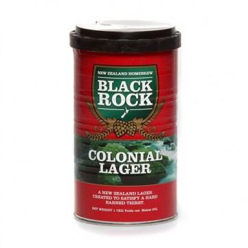 BLACK ROCK COLONIAL LAGER malto per birra artigianale 1,7kg