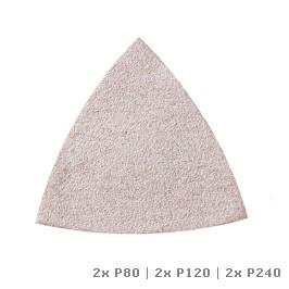 Carta abrasiva DREMEL® Multi-Max per vernice (P80, P120 e P240) (MM70P)