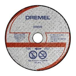 DREMEL® DSM20 disco da taglio per muratura (DSM520)