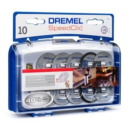 Set Dremel SC690 SET 11 accessori EZ SpeedClic