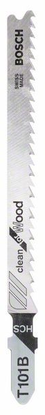 Bosch Lama per seghetto alternativo T 101 B Clean for Wood
