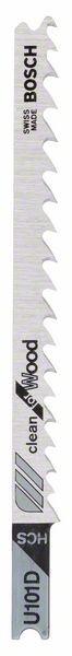 Bosch Lama per seghetto alternativo U 101 D Clean for Wood