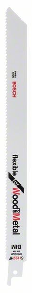 Bosch Lama per sega universale S 1122 HF Flexible for Wood and Metal