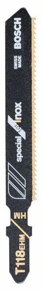 Bosch Lama per seghetto alternativo T 118 EHM Special for Inox