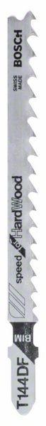 Bosch Lama per seghetto alternativo T 144 DF Speed for Hard Wood