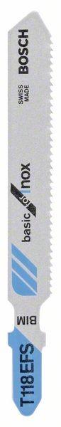 Bosch Lama per seghetto alternativo T 118 EFS Basic for Inox