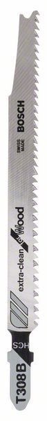 Bosch Lama per seghetto alternativo T 308 B Extraclean for Hard Wood