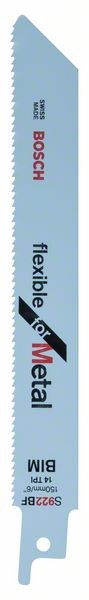 Bosch Lama per sega universale S 922 BF Flexible for Metal