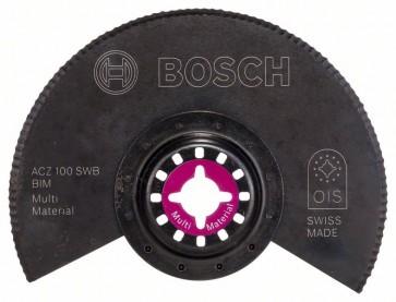 Bosch Lama segmentata con rettifica ondulata BIM ACZ 100 SWB, Multi Material 100 mm