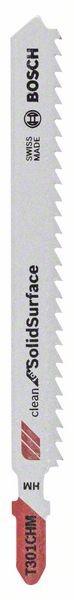 Bosch Lama per seghetto alternativo T 301 CHM Clean for Solid Surface