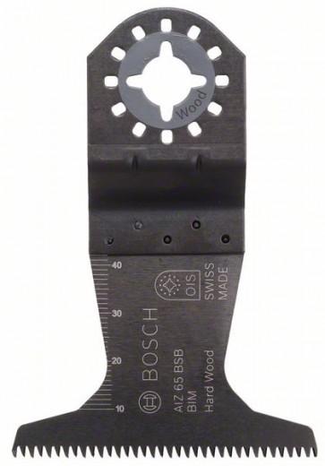 Bosch Lama per tagli dal pieno BIM AIZ 65 BSB, Hardwood 40 x 65 mm