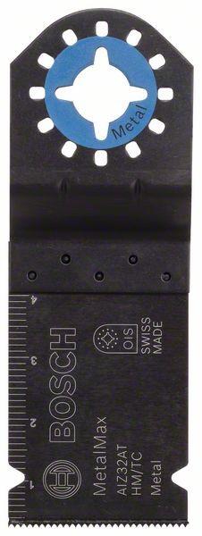 Bosch Lama per tagli dal pieno HM AIZ 32 AT, Metal 40 x 32 mm