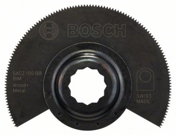 Bosch Lama segmentata BIM SACZ 100 BB, Wood and Metal 100 mm