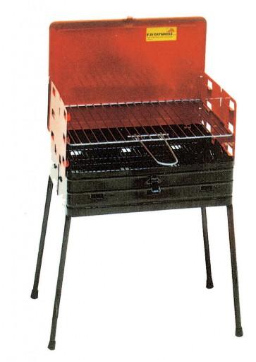 Barbecue Radiglia esterno in acciaio con 41x30