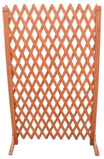 Steccato in legno estendibile con base cm 120 x 150