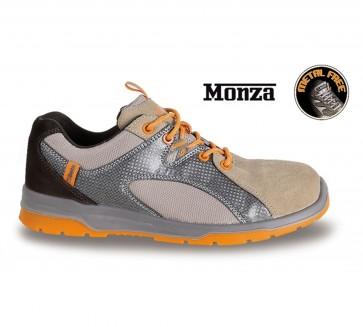 Scarpe Antinfortunistiche Beta 7313T Monza S1P SRC pelle scamosciata mesh e PU
