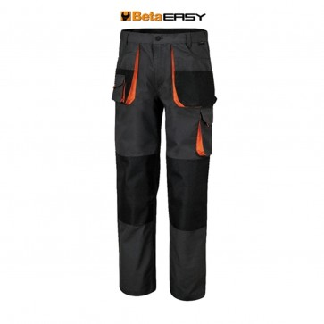 Pantalone da lavoro leggeri Beta 7900E multitasche in T/C canvas 260 g