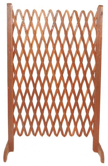 Steccato in legno estendibile con base cm 140 x 120