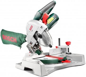 Bosch Troncatrice radiale PCM 7 potenza motore 1.100 Watt Raggio laser regolabile Peso 8 kg