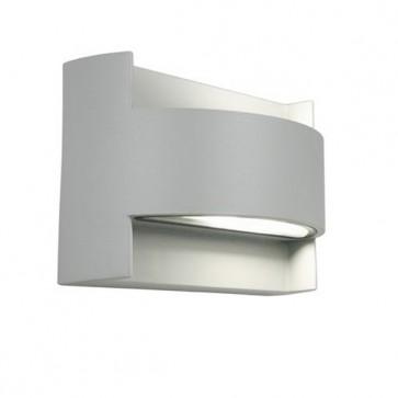 Applique con Emissione in Alto e in Basso Art. 415/16 Bianco/Grigio/Alluminio