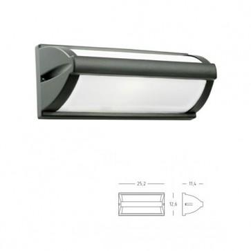 Applique/Plafoniera Aperta Art. 471/16 Grigio/Alluminio