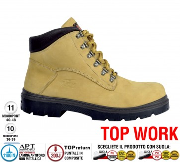 Scarpa lavoro Antinfortunistica Cofra ASUNCION S3 SRC TOP WORK