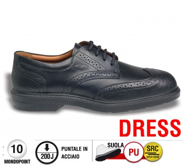 Scarpa Cofra BELL S1 SRC calzature Executives foderate pelle