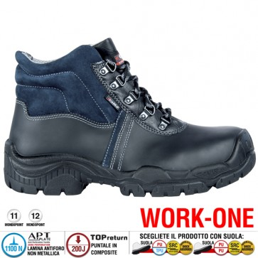 Scarpa Antinfortunistica Cofra BRUGES S3 SRC WORK-ONE