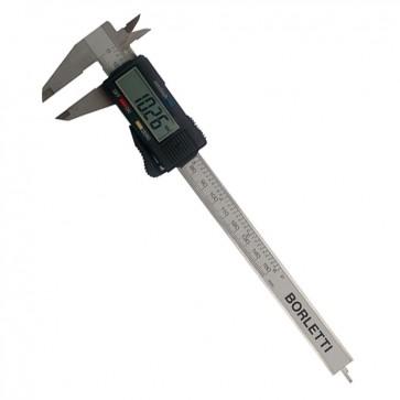 Calibro digitale BORLETTI CEP15 precisione 150mm in acciaio INOX con display  + custodia rigida