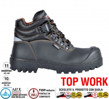Scarpa lavoro Antinfortunistica Cofra CHAGOS UK S3 HRO SRC TOP WORK