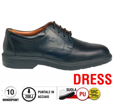 Scarpa Cofra COULOMB S2 SRC DRESS calzature Executives foderate pelle