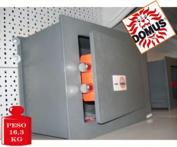 CASSAFORTE A MURO BLINDATA CON SERRATURA DOMUS DI/3 ITALIANA 280x380x200 mm