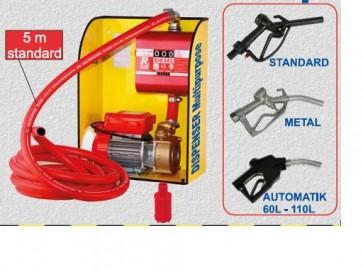 Pompa elettrica da travaso Dispenser Multipurpose con contalitri ROVER BE-M 30 PER GASOLIO DIESEL - pompetta elettropompa