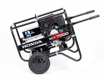 Generatore Honda ECT 7000 IT PROFESSIONALE Mono / Trifase - Avviamento manuale - gruppo elettrogeno