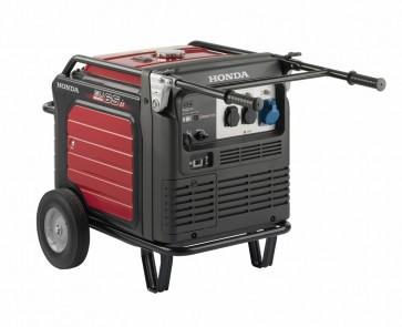 Generatore Portatile Honda EU 65is PROFESSIONALE Inverter - Avviamento elettrico e manuale - Batteria - Trolley