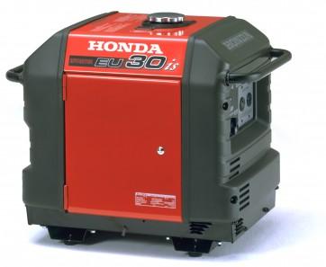 Generatore portatile Honda EU 30is IT con batteria e 4 ruote
