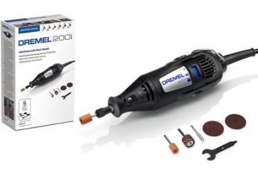 Set DREMEL 200JC accessori perno cilindro moletta disco (200-5)
