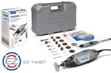 Set DREMEL 3000JF albero flessibile accessori ez speedclic (3000-1/25)