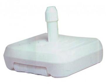 BASE PER OMBRELLONI OMBRELLONE QUADRA IN PVC A RIEMPIMENTO DI ACQUA CM. 60x60