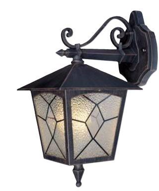 Lanterna da giardino CLASSIC corpo alluminio verniciato lampada 60w