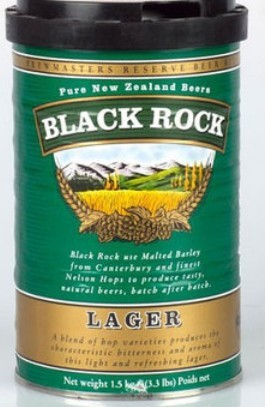 MALTO BIRRA BLACK ROCK EAST LAGER KG.1.7 BIRRA IN CASA