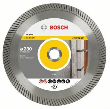 BOSCH DISCO DIAMANTATO BEST FOR UNIVERSAL TURBO 230x22,20